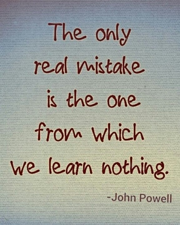Learn From Your Mistakes Quote 3 Picture Quote #1