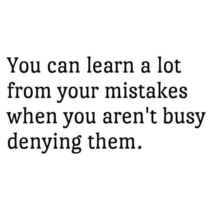 Learn From Your Mistakes Quote 5 Picture Quote #1