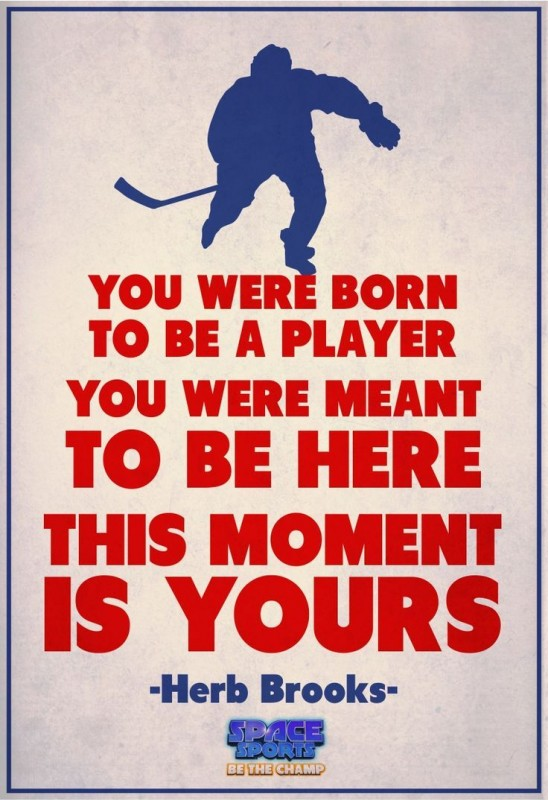 Inspirational Hockey Quote 2 Picture Quote #1