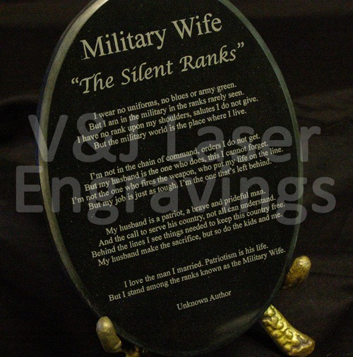 Army Wife Quote 9 Picture Quote #1