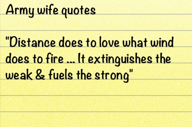 Army Wife Quote 11 Picture Quote #1