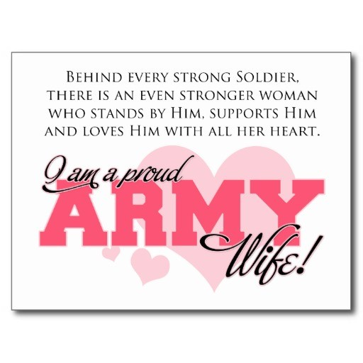 Proud Army Wife Quote | Quote Number 681819 | Picture Quotes