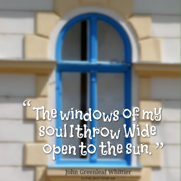 Open Window Quote 2 Picture Quote #1