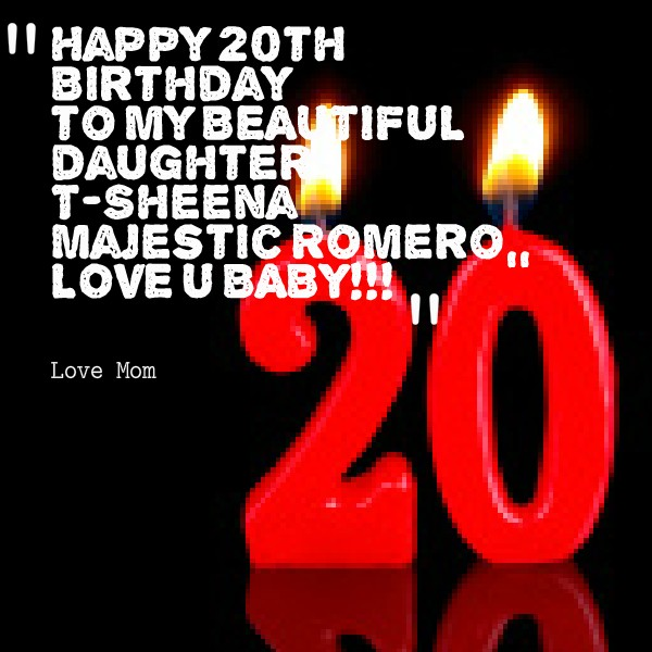 Happy Birthday 20th Quotes: 20th Birthday Quotes & Sayings
