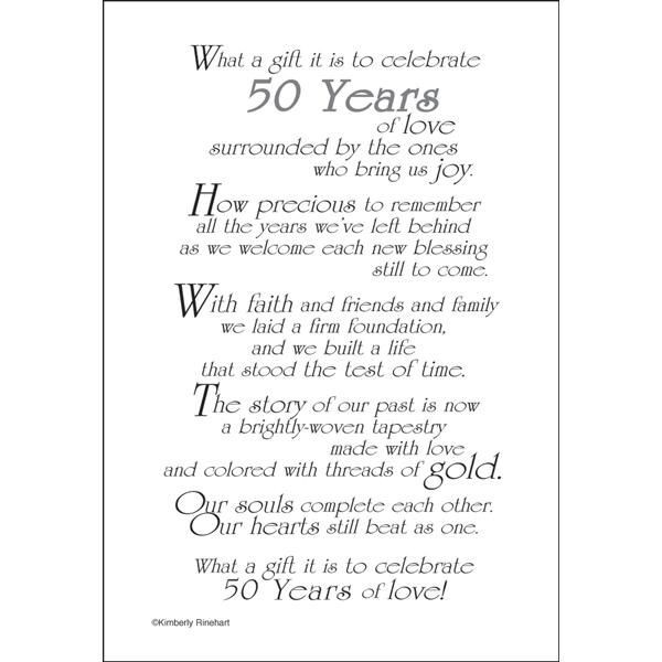 50th Wedding Anniversary Quote Quote Number 682296 Picture Quotes