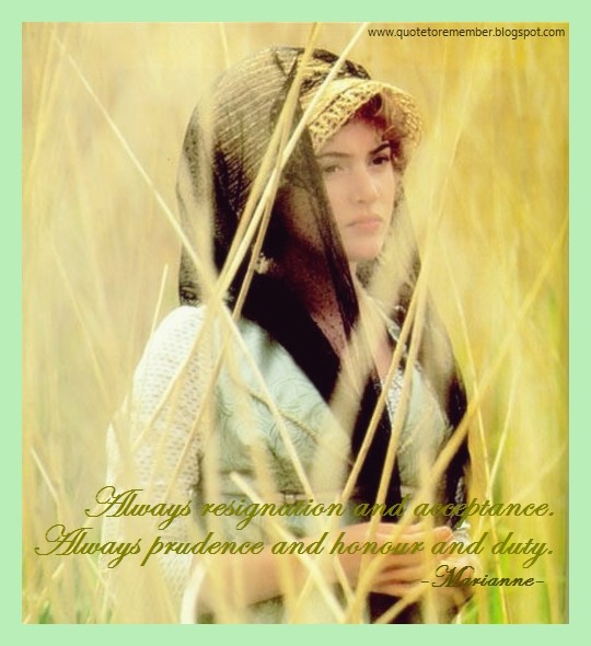 Sense And Sensibility Quote 14 Picture Quote #1