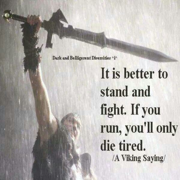 Viking Proverb Quote Sayings 1 Picture Quote #1