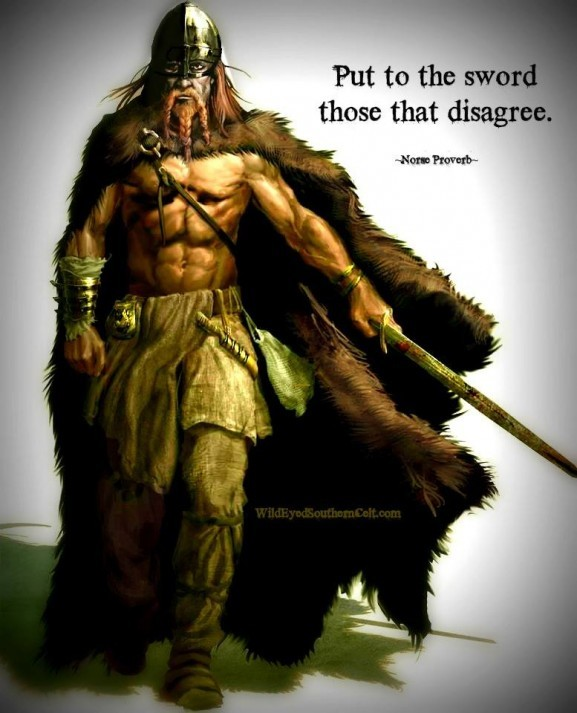 Viking Proverb Quote Sayings 2 Picture Quote #1