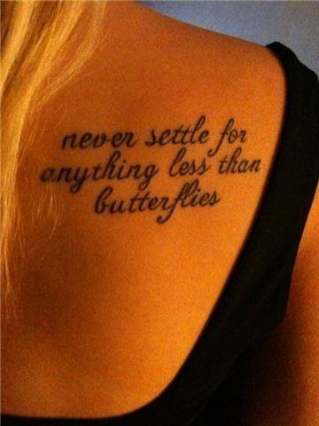 Never Settle Quote 3 Picture Quote #1