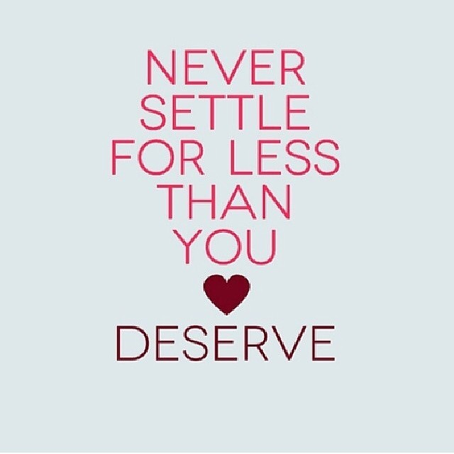Never Settle For Less Quote 1 Picture Quote #1