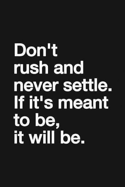 Never Settle Quote 8 Picture Quote #1
