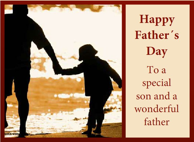 Fathers Day Quote From Son 2 Picture Quote #1