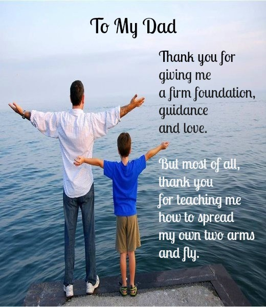 Fathers Day Quote From Son 5 Picture Quote #1