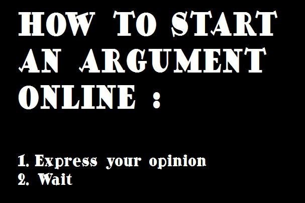 Funny Argument Quote 1 Picture Quote #1
