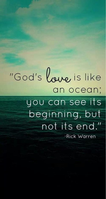 Christian Quote God Love 1 Picture Quote #1