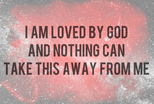 God Loves Me Quote 1 Picture Quote #1