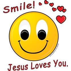 Smile God Loves You Quote 2 Picture Quote #1