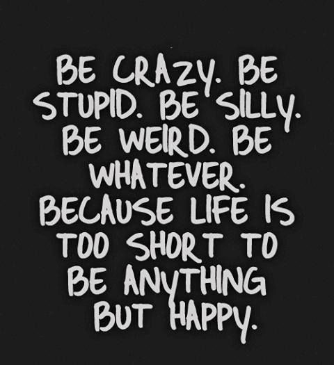Being Weird Is Good Quote 1 Picture Quote #1