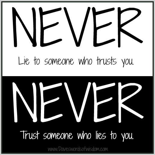Never Trust Quote 3 Picture Quote #1