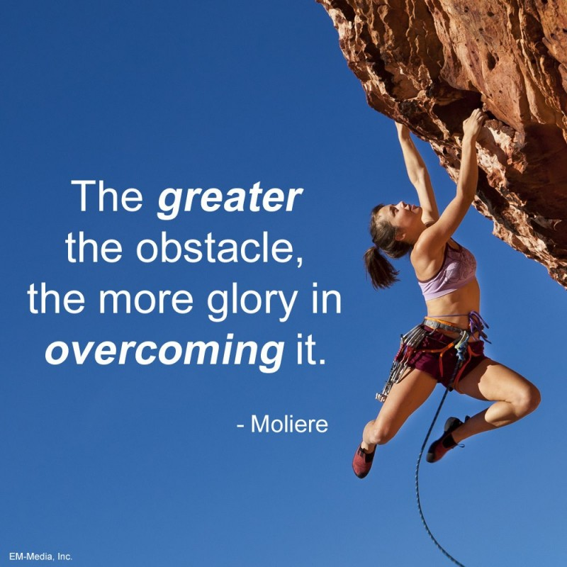 Overcoming Quote 6 Picture Quote #1