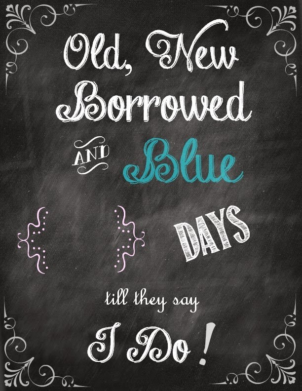 bridal shower chalkboard quote 2 picture quote 1