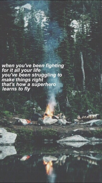 Super Heroes The Script Lyric Quote 4 Picture Quote #1
