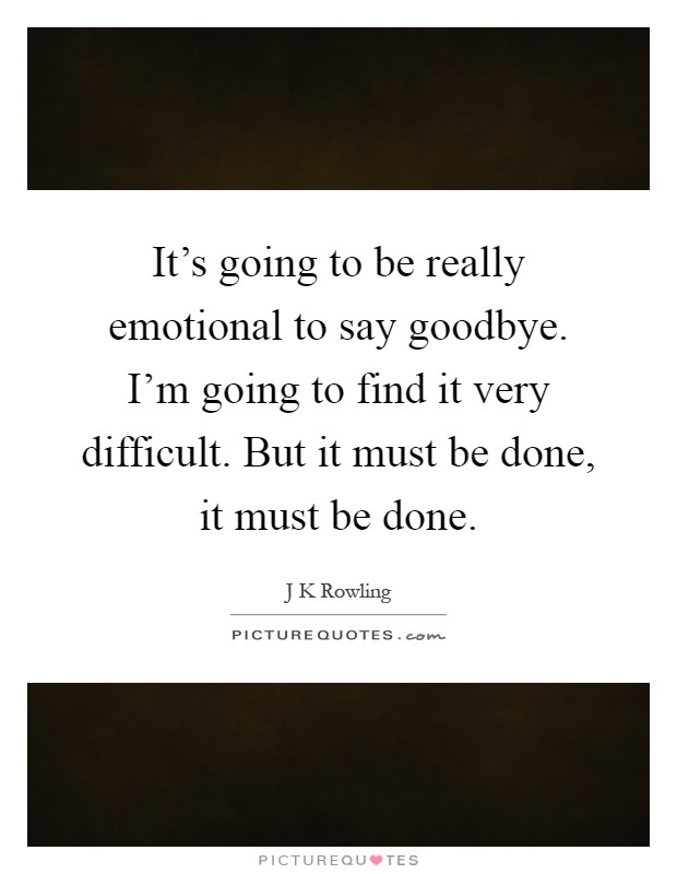 how to say goodbye quotes