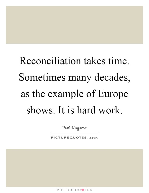 Teen quotes on reconciliation