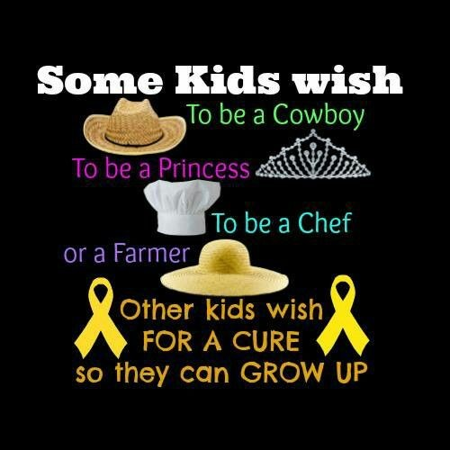Childhood Cancer Survivor Quote 2 Picture Quote #1