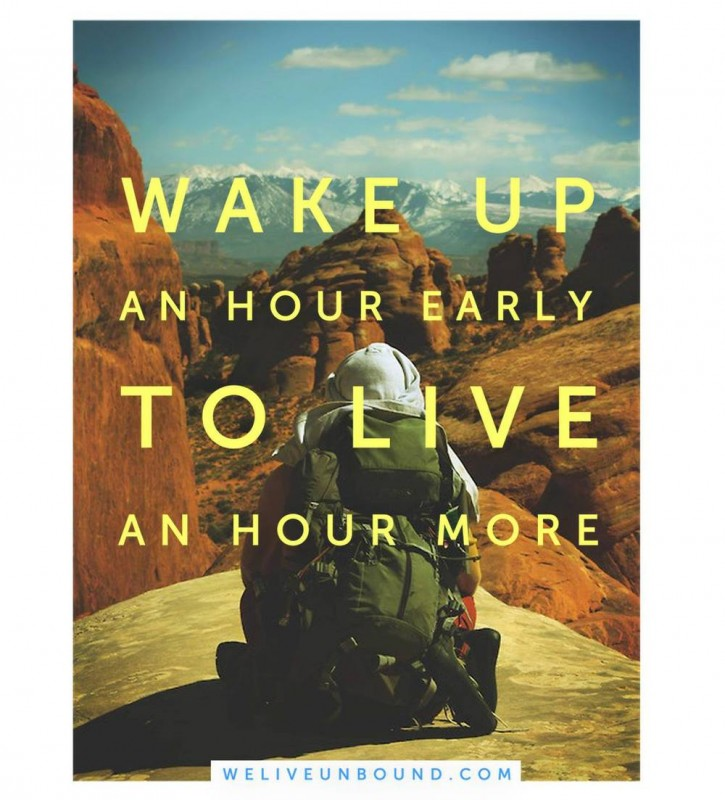 Waking Up Early Quote 2 Picture Quote #1