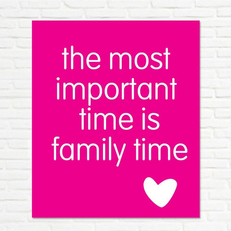 Quality Time With Family Quote 1 Picture Quote #1