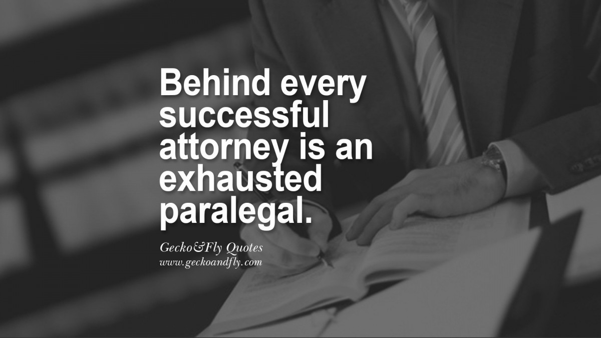 Funny Paralegal Quote 1 Picture Quote #1