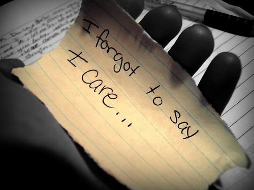 I Care Quote 1 Picture Quote #1