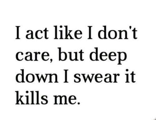 I Care Quote 3 Picture Quote #1