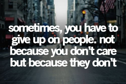 You Dont Care Anymore Quote 2 Picture Quote #1