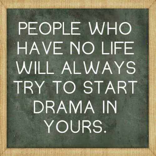 Drama Free Life Quote 1 Picture Quote #1