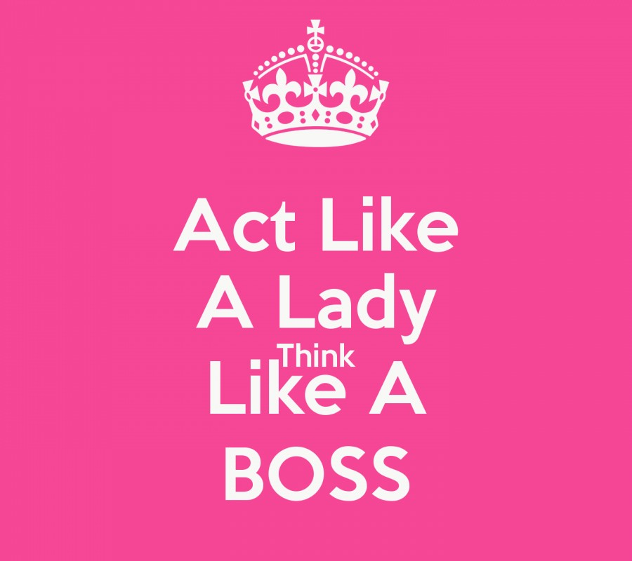 Act Like A Lady Quote 1 Picture Quote #1