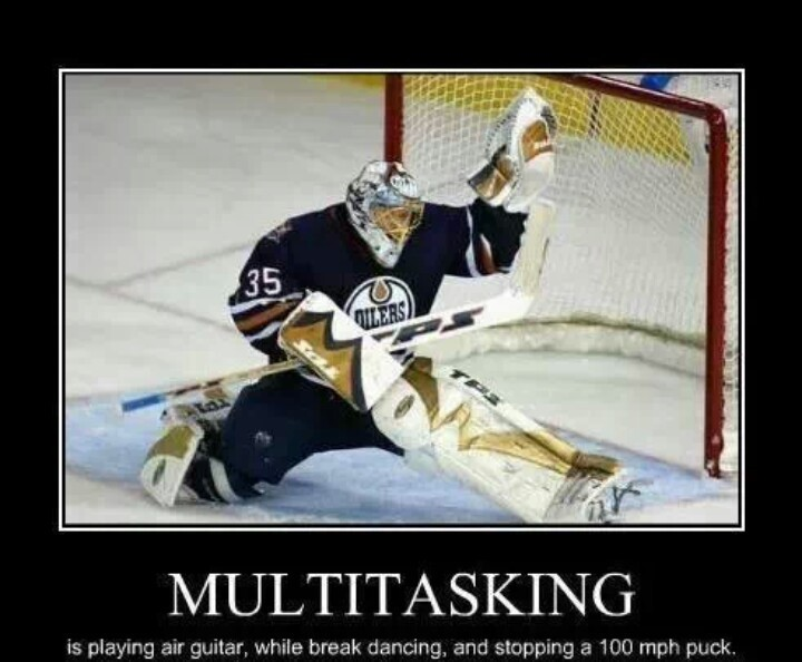 Funny Hockey Goalie Quote 1 Picture