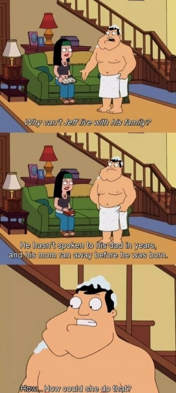 American Dad Quote 25 Picture Quote #1