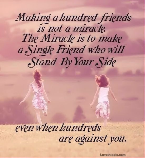 Friendship Quote For Girls 1 Picture Quote #1