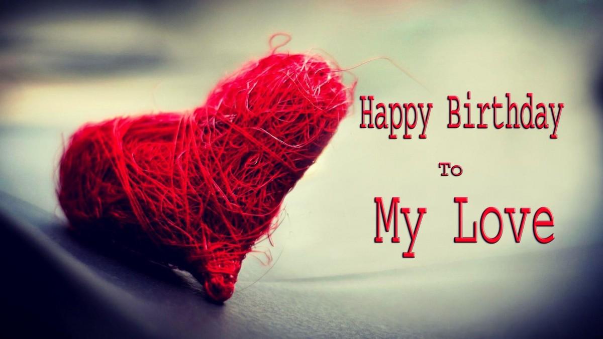 Happy Birthday My Love Quote 1 Picture Quote #1