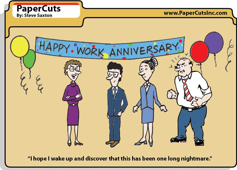 happy work anniversary quotes funny