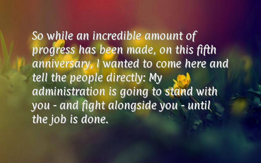 Work Anniversary Quote 4 Picture Quote #1