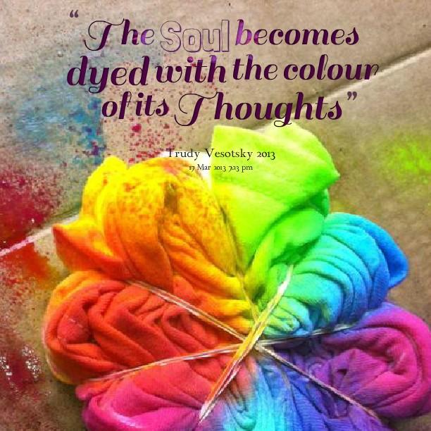 Colour Quote 5 Picture Quote #1