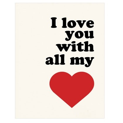 I Love You With All My Heart Quote 4 Picture Quote #1