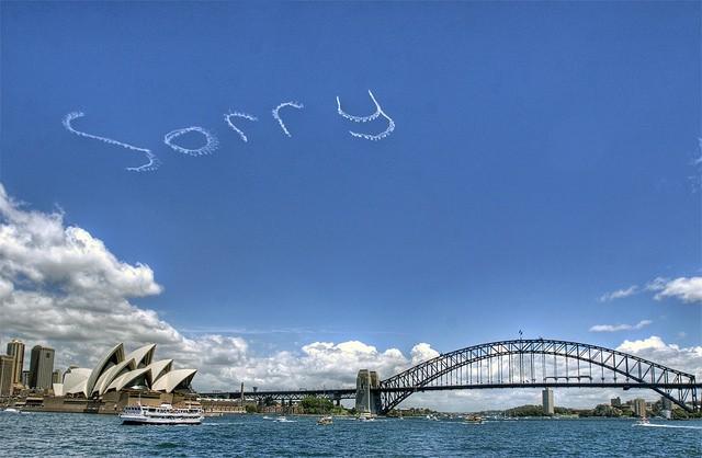 Apologies Quote 2 Picture Quote #1