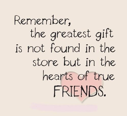 Real Friendship Quote 1 Picture Quote #1