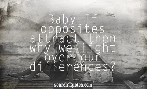 Opposites Attract Quote 1 Picture Quote #1