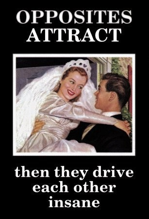 Opposites attract dating advice