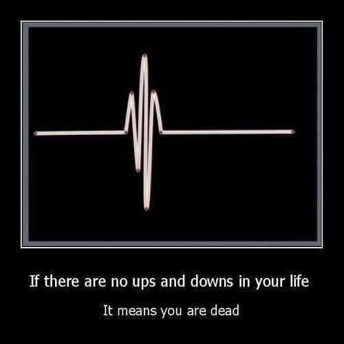 Ups And Downs Quote 5 Picture Quote #1